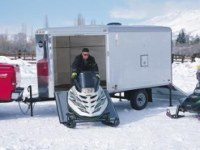 St Lawrence County Snowmobile Rider