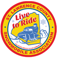 St Lawrence County Snowmobile Association Logo